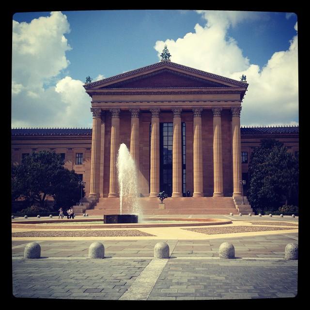 Sightseeing in Philly #thelastyear #legendarydobbs #philadelphiamuseumofart