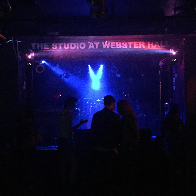 That is a fine stage in deed. @carmenandcamilleofficial @neonhitch #websterhall NYC